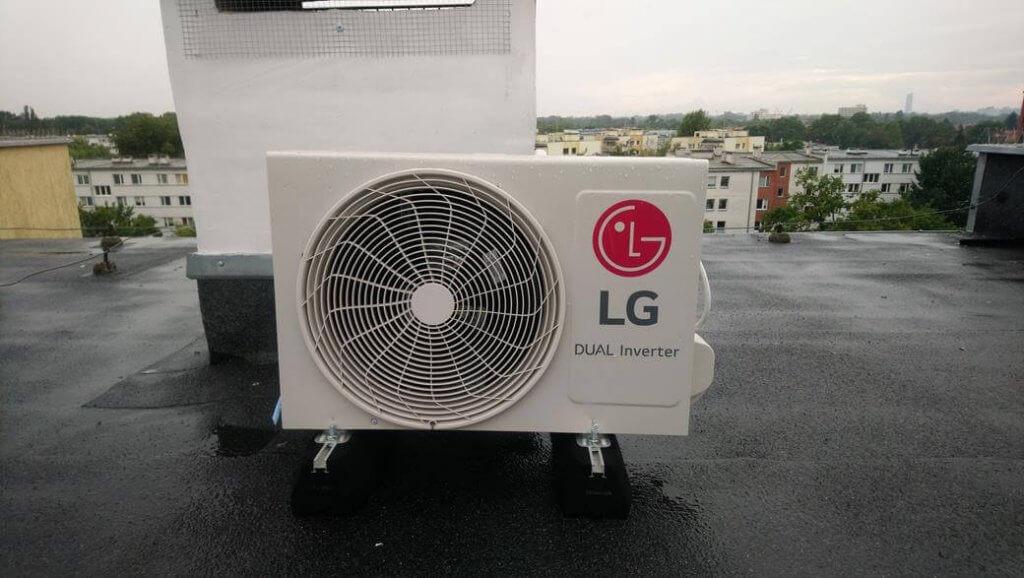 Jednostka zewnętrzna klimatyzacji LG