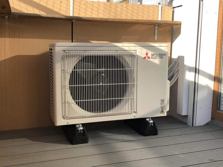 Jednostka zewnętrzna klimatyzator Mitsubishi