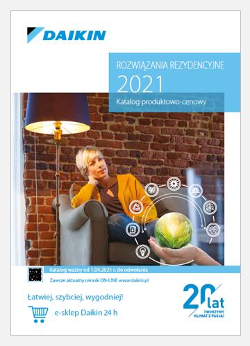 Cennik klimatyzatorów Daikin 2021