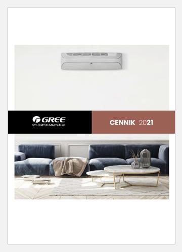 Cennik klimatyzatorów Gree 2021