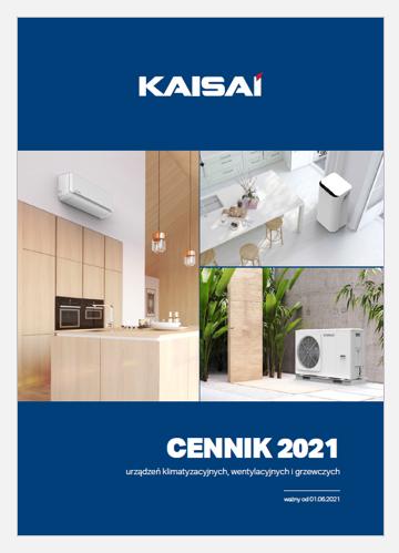 Cennik klimatyzatorów Kaisai 2021