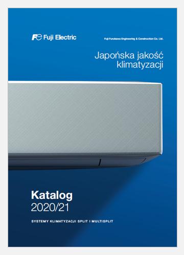 Katalog klimatyzatorów Fuji Electric 2020-2021