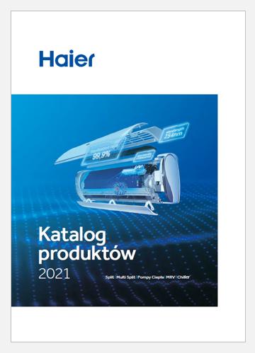 Katalog klimatyzatorów Haier 2021