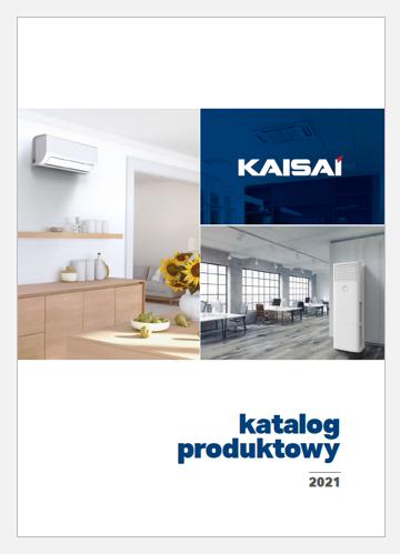 Katalog klimatyzatorów Kaisai 2021