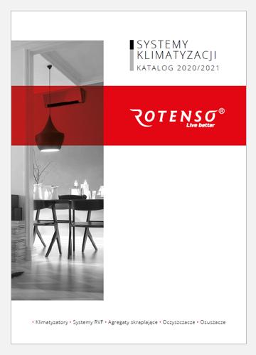 Katalog klimatyzatorów Rotenso 2020-2021